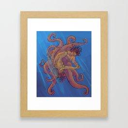Cuttle Fish Framed Art Print