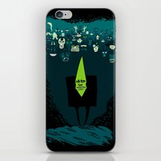 Mr. Green and his awesome army iPhone & iPod Skin