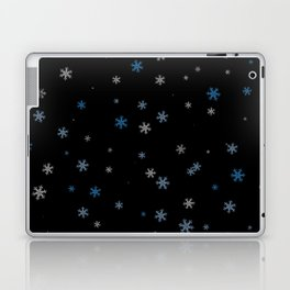 Snowy Blues | Veronica Nagorny Laptop & iPad Skin