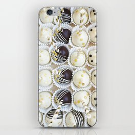 Colorful cake pops iPhone Skin