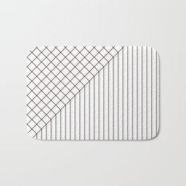 Check out the stripes Bath Mat