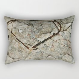 Egon Schiele - Autumn Tree In Stirred Air (Winter Tree) Rectangular Pillow