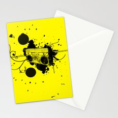 Vintage Boombox  Stationery Cards
