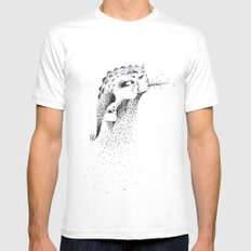 Faerie White MEDIUM Mens Fitted Tee