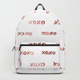 XOXO Fashion Love Rose Gold Pattern 2 Backpack