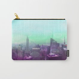Dreamy Bokeh NYC Manhattan Skyline Carry-All Pouch