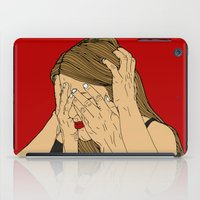introvert iPad Cases featuring Introvert 5 by Heidi Banford
