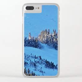Above the Treeline, Mount Hog's Back Clear iPhone Case