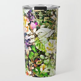 Scattered Blooms And Verdure Travel Mug