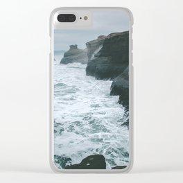 Cape Kiwanda II Clear iPhone Case