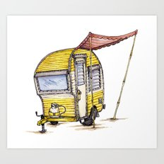 Tiny Camper Art Print