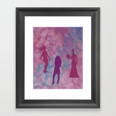 Life in Transition Framed Art Print