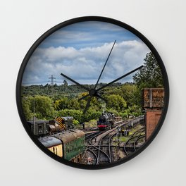 Camelot end of day. Wall Clock