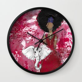 Delta Angel Wall Clock