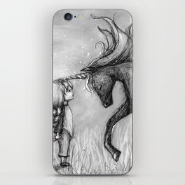 Enchantment of the Unicorn iPhone Skin
