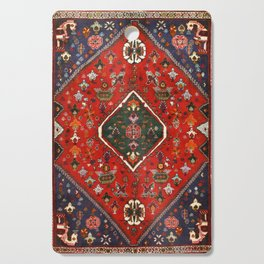 N65 - Colored Floral Traditional Boho Moroccan Style Artwork Cutting Board