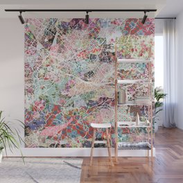Florence map Wall Mural