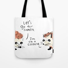 I'm on a cleanse. Tote Bag