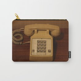 Vintage Retro Telephone Carry-All Pouch