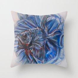 Carnation-Betta Throw Pillow