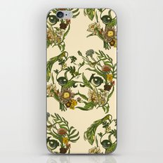 Botanical Pug iPhone & iPod Skin