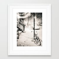 new york city Framed Art Prints featuring New York City by Vivienne Gucwa