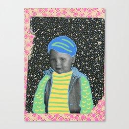 Young Sad Constellation Canvas Print
