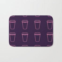 Its Always Coffee O'Clock Bath Mat