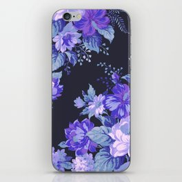 Midnight Floral iPhone Skin