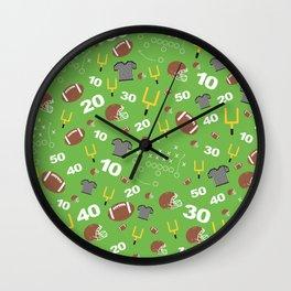 Football Cheers Wall Clock
