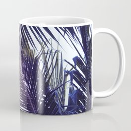 Palm Leaf in Sunset Coffee Mug