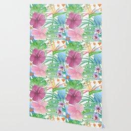 Malia's Tropical Print Wallpaper