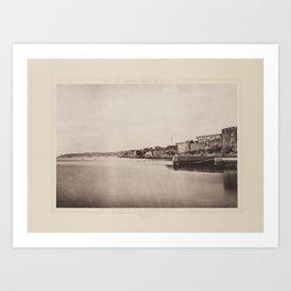 Entree du Port Militaire de Brest Les Travaux Publics de la France Art Print