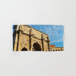 Rome - The Arch of Constantine Hand & Bath Towel