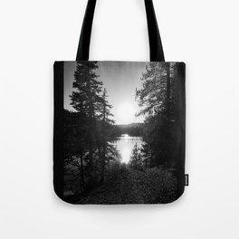 Devils Lake Tote Bag