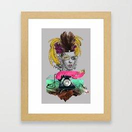 GODNESS. Framed Art Print