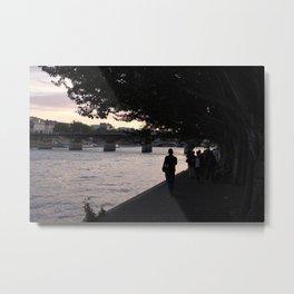 #ParisPostcards || In-seine-ly beautiful Metal Print