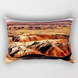 The Painted Desert Rectangular Pillow