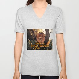 Season of the Big Cat - Mad Dogs and Lions Unisex V-Neck