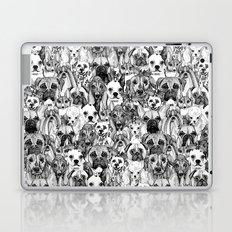 christmas dogs Laptop & iPad Skin