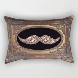 mustache fantastic cadre Rectangular Pillow