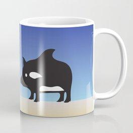 Hamu on the Beach. Coffee Mug