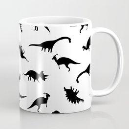 Dino Silhouettes Coffee Mug