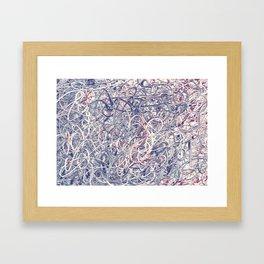Digital Pollocks Framed Art Print