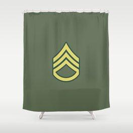 Staff Sergeant (OD Green) Shower Curtain