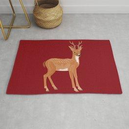 Reindeer Love Rug