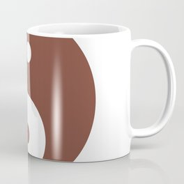 Yin & Yang (Brown & White) Coffee Mug