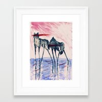 ford Framed Art Prints featuring Ford by DogoD Art