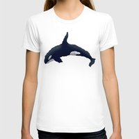 orca T-shirts featuring Orca by Dusty Goods