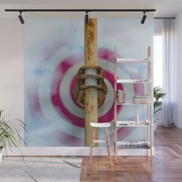 Sky clouds and helical color Wall Mural